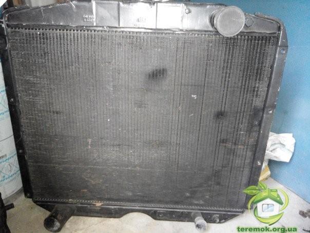 ремонт радиатора УРАЛ-4320 в Москве